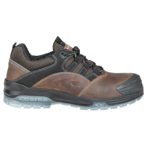 Cofra Vermeer Brown Metal Free Safety Shoes