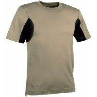 Cofra Guadalupa Khaki T-Shirt With CoolDry Fabric