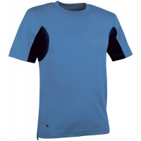 Cofra Guadalupa Light Blue T-Shirt With CoolDry Fabric