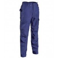 Cofra Helsinki Navy Zip-Off Canvas Trousers