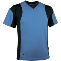 Cofra Java Light Blue  T-Shirt With CoolDry Fabric