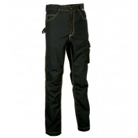 Cofra Maastricht Black Tech-Wear Work Trousers