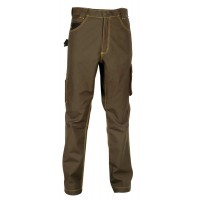 Cofra Maastricht Brown Tech-Wear Work Trousers