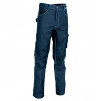 Cofra Maastricht Navy Tech-Wear Work Trousers