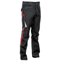 Cofra Montijo Black/Red Workwear Trousers