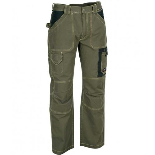 Cofra Dublin Mud Canvas Trousers