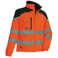 Cofra Nansen GORE-TEX Orange High Visibility Jacket