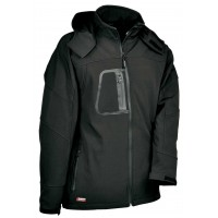 Cofra Sweden Black Softshell Jacket