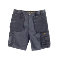 DeWalt Ferguson Black/Grey Stretch Shorts