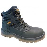 DeWalt Hudson Black Waterproof Safety Boots
