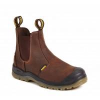 DeWalt Nitrogen Brown Dealer Boots