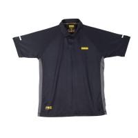 DeWalt Rutland Black/Grey PWS Polo Shirt