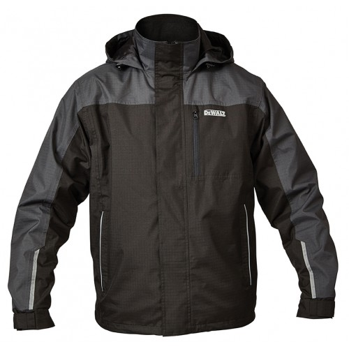 DeWalt Storm Black Waterproof Jacket
