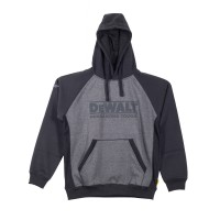 DeWalt Stratford Grey/Black Hooded Sweatshirt