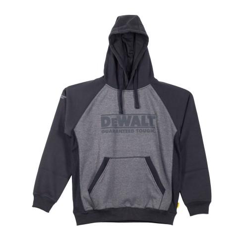 DeWalt Stratford Grey/Black Hooded Sweatshirt