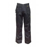 DeWalt Thurlston Black Stretch Work Trousers