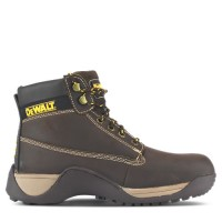 Dewalt Apprentice Brown Safety Boots Steel Toe Caps