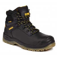 Dewalt Newark Black Waterproof Safety Boots Steel Toe Caps and Midsole