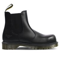 Dr Martens Icon Black Smooth Leather Dealer Boots 2228