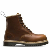 Dr Martens Icon 7B10 Tan Safety Boots Size 6