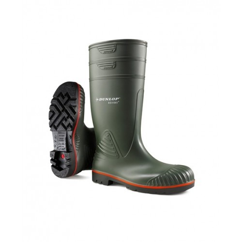 Dunlop Acifort Heavy Duty Safety Wellingtons A442631
