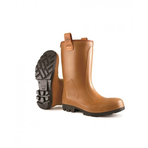 Dunlop Purofort Fur Lined Rigger Boots