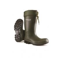 Dunlop Purofort Green Safety Wellingtons C462943-VK