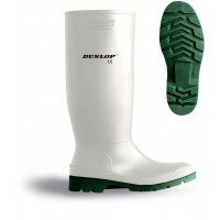Dunlop Pricemaster Non Safety White Wellingtons 380BV