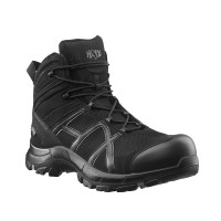 Haix Black Eagle 40 Mid Black Safety Boots