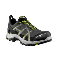 Haix Black Eagle Safety 40.1 Low Stone/Citrus Shoes