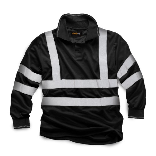 Standsafe HV005 Security Long Sleeve Polo