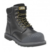 JCB 5CX Black Safety Boots