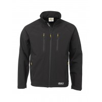 JCB Trade II Softshell Black Jacket