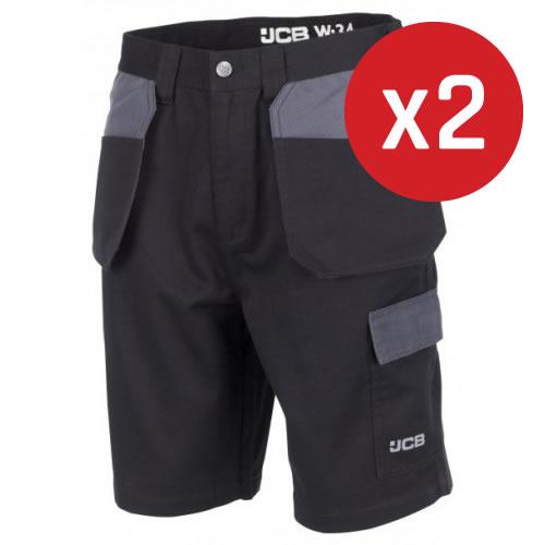 JCB Trade Plus Shorts Holster Pockets 2-Pack