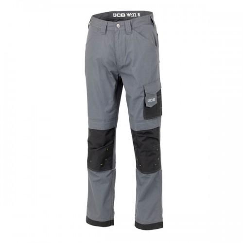 JCB Trade Ripstop Trousers Grey