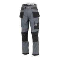 JCB Trade Plus Ripstop Trousers Grey
