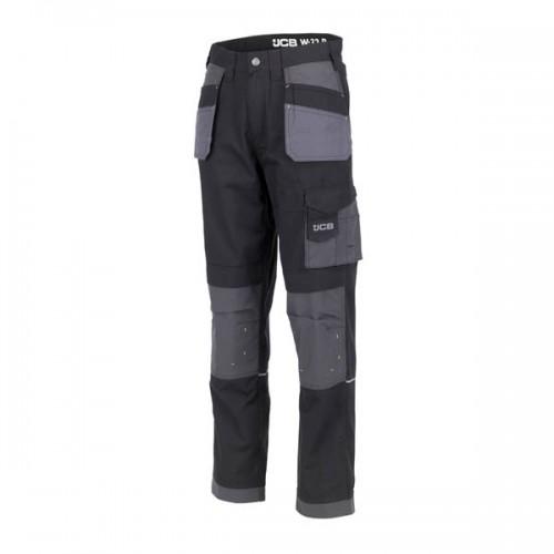 JCB Trade Plus Ripstop Trousers Black Short Leg