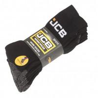 JCB 4-Pack Work Socks