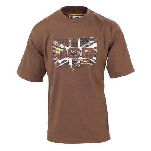 JCB Workwear Heritage T-Shirt Sand