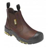 JCB Brown Dealer Boot