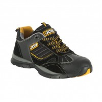 JCB Granite Black Safety Trainers