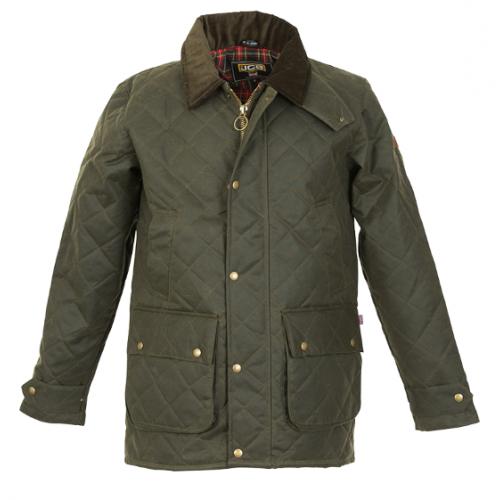 JCB Workwear Green Cheltenham Quilted Jacket