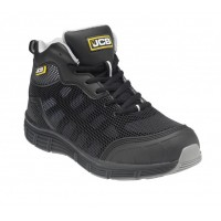 JCB Hydradig Black Midcut Safety Boot