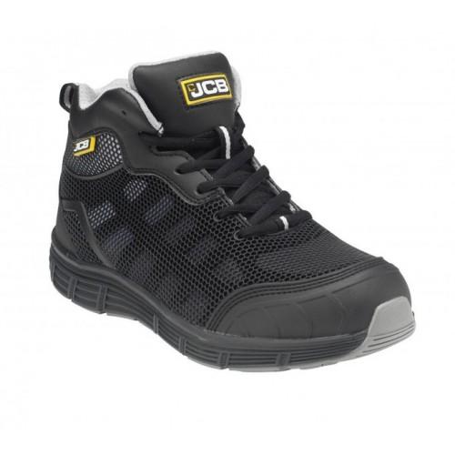 JCB Hydradig Black Midcut Safety Boot