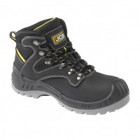 JCB Backhoe Black Safety Boots