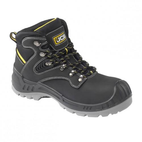 JCB Backhoe Black Safety Boots