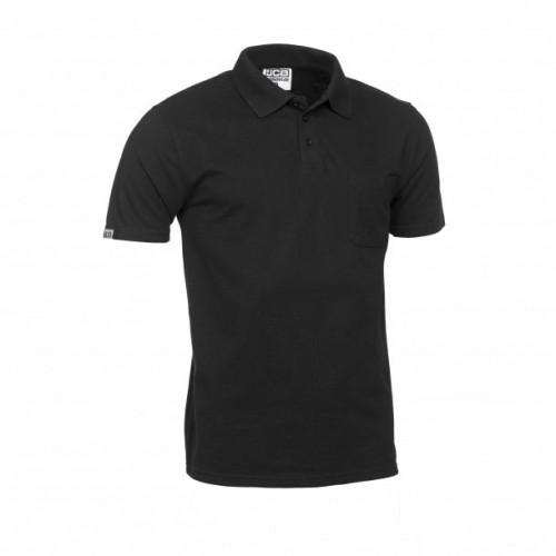JCB Essential Polo Shirt Black