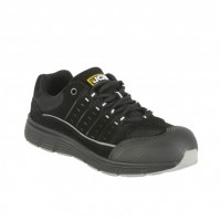JCB Trekker Black Safety Trainers