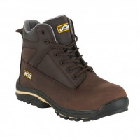 JCB Workmax Brown Safety Boots