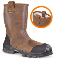 Jallatte Jalbox Rigger Boots with Composite Toe Caps & Steel Midsole JJE19 Mens